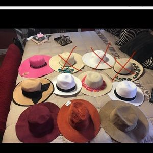 Accessories - BUNDLE Collection of New Hats